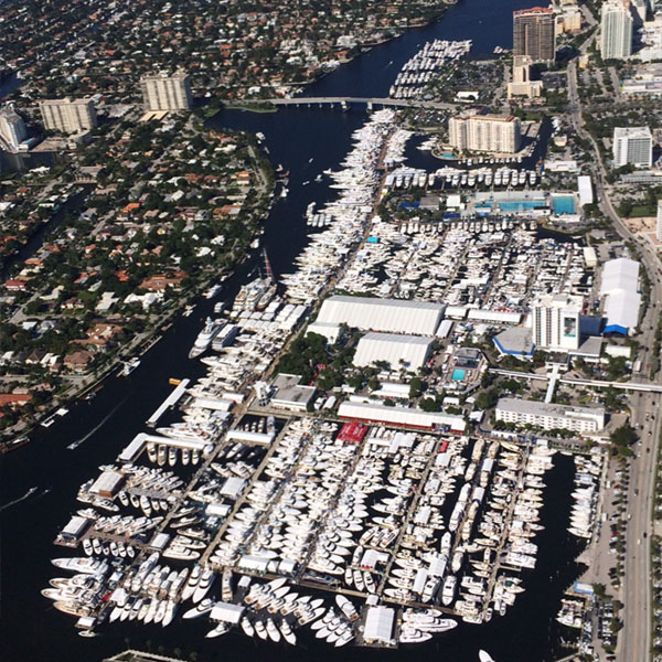 Fly banners over Ft. Lauderdale Boat Show