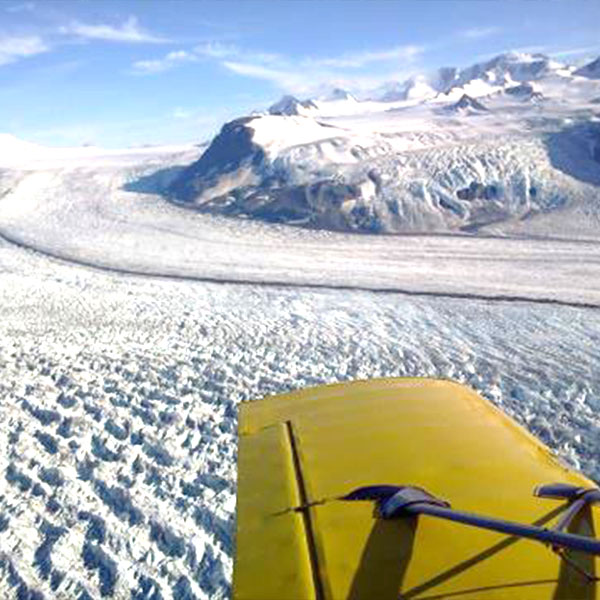 Fly banners over Alaska