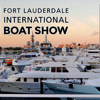 Fly banners over Ft. Lauderdale International Boat Show